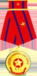 Huân chương lao động hạng nhì được Chủ tịch nước CHXHCNVN trao tặng năm 2002
